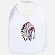 Indian Chief Headdress Bib