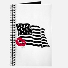 Shoes and Stripes Flag Journal
