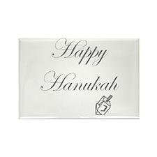 Happy Hanukah Dreidel Rectangle Magnet
