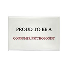 Proud to be a Consumer Psychologist Rectangle Magn
