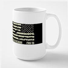 USS Ronald Reagan Large Mug