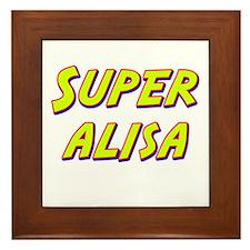 Super alisa Framed Tile