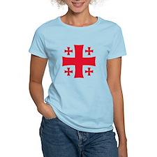 Georgia 5 Cross T-Shirt
