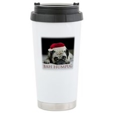 Christmas Puggie Travel Mug
