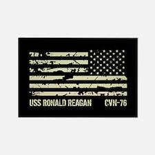 USS Ronald Reagan Rectangle Magnet