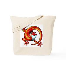 Native American Lizard Tote Bag