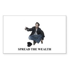 Spread the Wealth Rectangle Decal