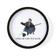 Spread the Wealth Wall Clock