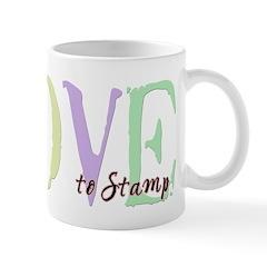 Love to Stamp Mug