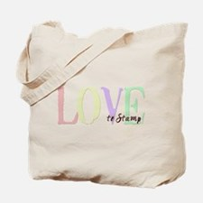 Love to Stamp Tote Bag