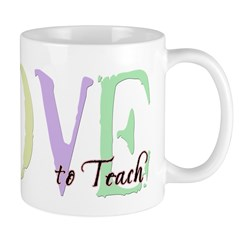 Love to Teach Mug
