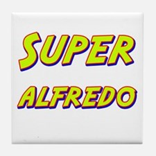 Super alfredo Tile Coaster