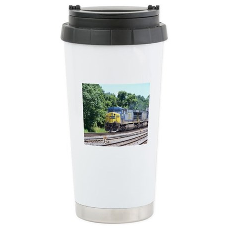 CSX Q190 Doublestack Train Stainless Steel Travel
