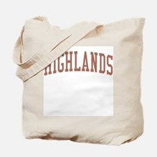 Highlands New Jersey NJ Red Tote Bag