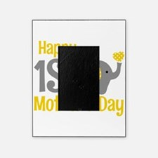1st Mother's Day Elephant Yellow Picture Frame