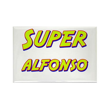 Super alfonso Rectangle Magnet (10 pack)