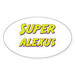 Super alexus Oval Decal