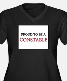 Proud to be a Constable Women's Plus Size V-Neck D