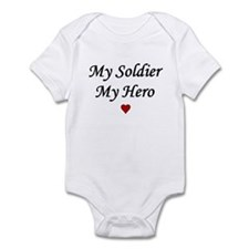 My Soldier My Hero ARMY Infant Creeper