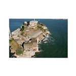 sf bay gifts - Alcatraz Rectangle Magnet (100 pack
