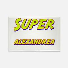 Super alexandrea Rectangle Magnet