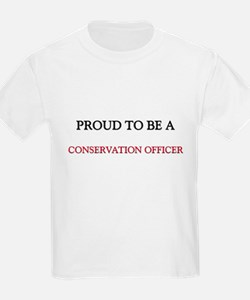 Proud to be a Conservation Officer T-Shirt