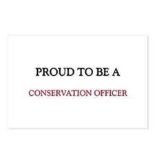 Proud to be a Conservation Officer Postcards (Pack
