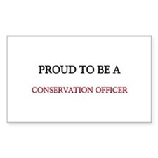 Proud to be a Conservation Officer Decal