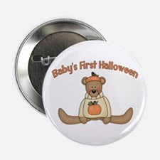 """Baby's First Halloween 2.25"""" Button"""