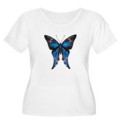 Blue & Pink Butterfly T-Shirt