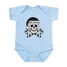 Bah Humbug Skull Infant Bodysuit