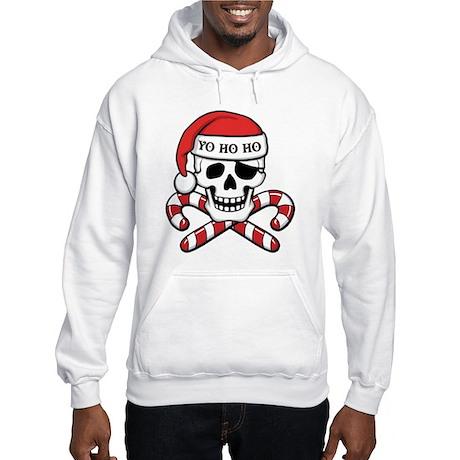 Christmas Pirate Hooded Sweatshirt