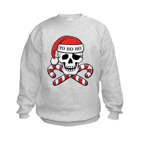 Christmas Pirate Kids Sweatshirt