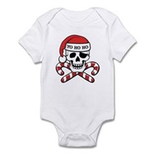 Christmas Pirate Infant Bodysuit