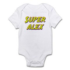 Super alex Infant Bodysuit