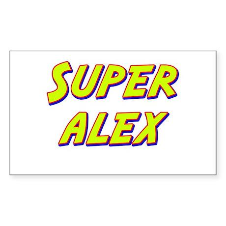 Super alex Rectangle Sticker
