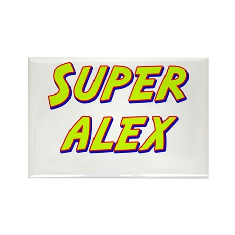 Super alex Rectangle Magnet (10 pack)