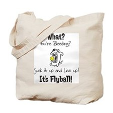 Cute Flyball Tote Bag