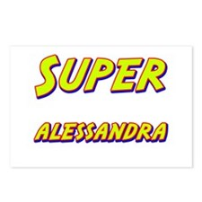 Super alessandra Postcards (Package of 8)