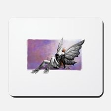fantasy butterfly girl Mousepad
