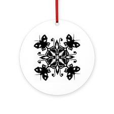 Butterfly Garden Ornament (Round)