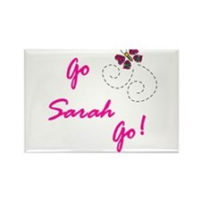 Go Sarah Go! Rectangle Magnet