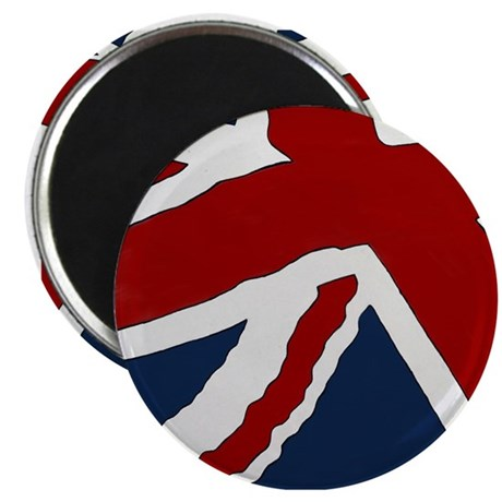 "Union Jack 2.25"" Magnet (100 pack)"