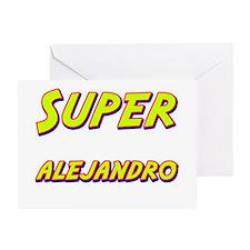 Super alejandro Greeting Card