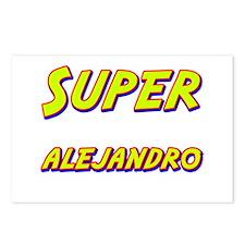 Super alejandro Postcards (Package of 8)