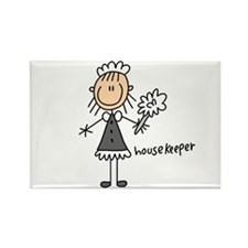 Housekeeper Rectangle Magnet