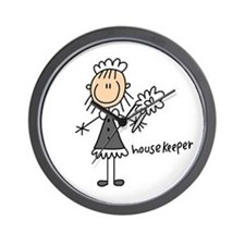 Housekeeper Wall Clock