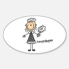 Housekeeper Oval Decal