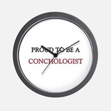 Proud to be a Conchologist Wall Clock