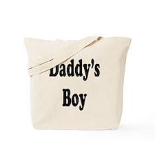 Daddy's Boy Tote Bag